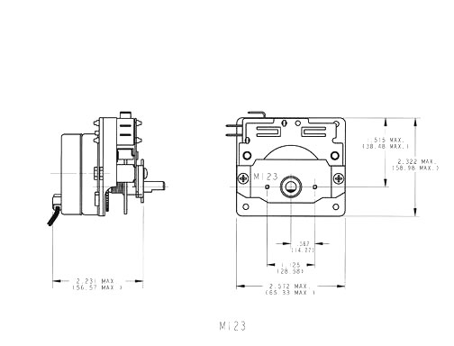 Model 123 Electromechanical Diagrams